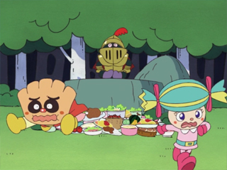 クリームパンダとキャンディ姫