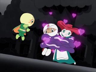 ロールパンナとフラワー姫