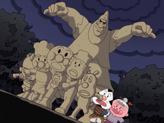 おむすびまんと化石の魔王