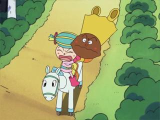 カレーパンマンとキャンディ姫