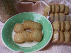 白ゴマのクッキー