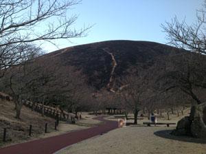 伊豆高原大室山