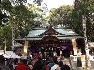 来宮神社初詣