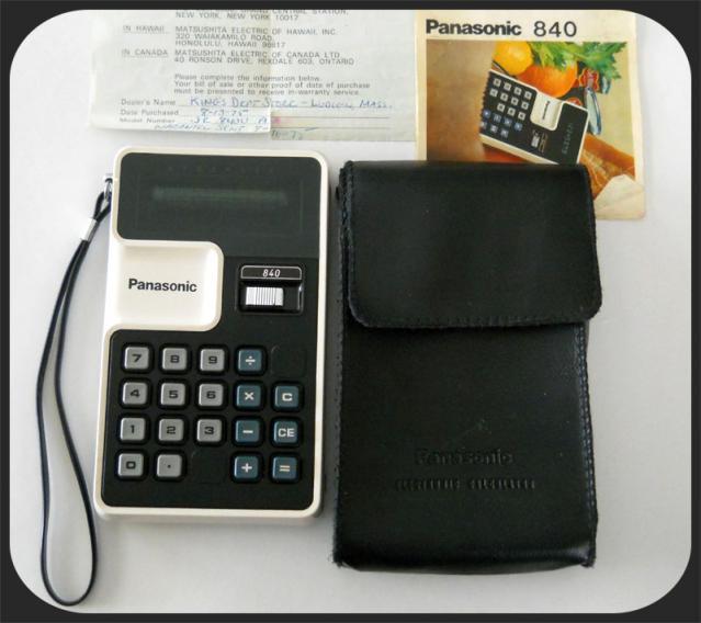 Panasonic JE-840U