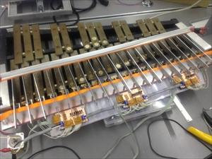 鉄琴ロボット 設置