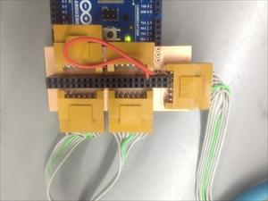 鉄琴ロボット 回路