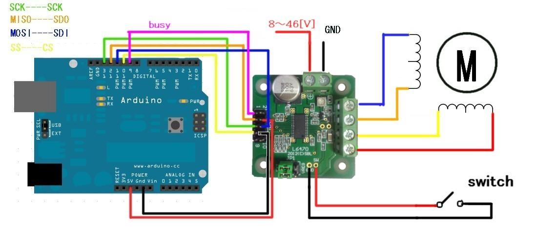 l6470 arduino SW 2