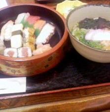 ひょうたん寿司ランチスペシャルだ