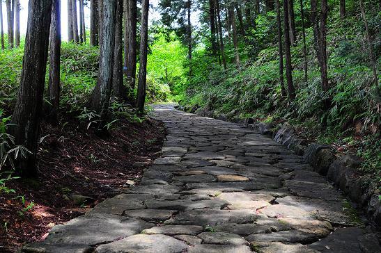 中山道の石畳