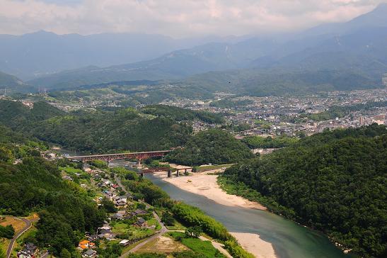 高森山からの眺望