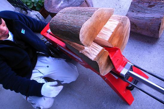 薪割り機2