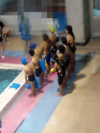 水泳る~~~~。