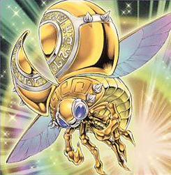 黄金の天道虫