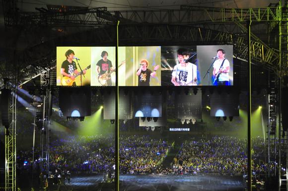 五月天【倔强】IN鸟巢 十万人合唱版
