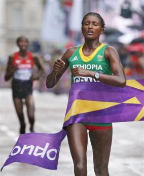 ロンドン女子マラソン