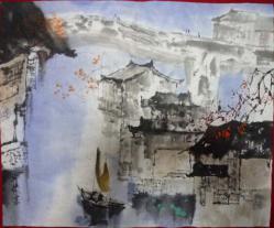 臨画中国風景