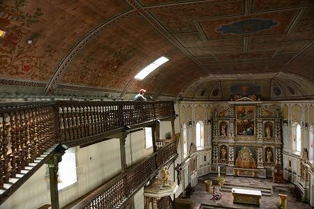 エスペレット教会天井20141028