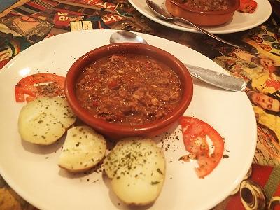 ピマンを入れてひき肉スープ20141028