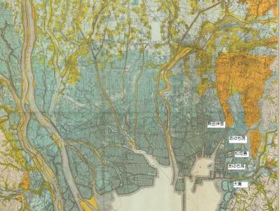 地形分類図