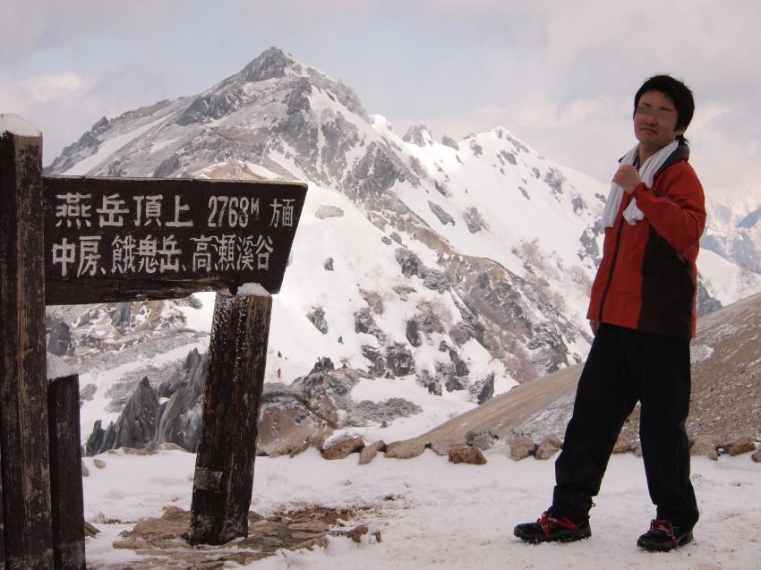 2012年 5月5日 北アルプス燕岳 27