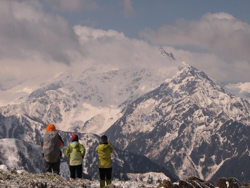 2012年 5月5日 北アルプス燕岳 37