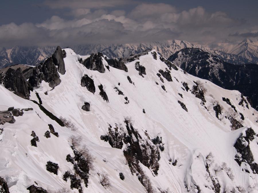 2012年 5月5日 北アルプス燕岳 41