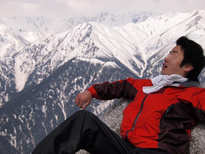 2012年 5月5日 北アルプス燕岳 47