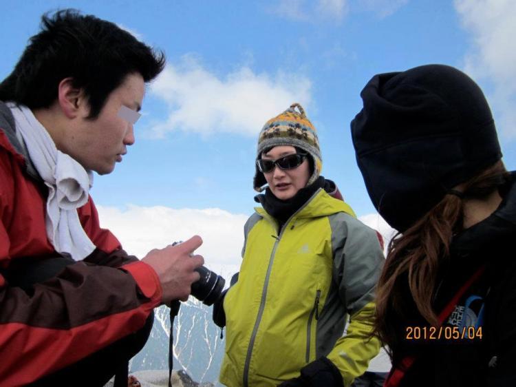 2012年 5月5日 北アルプス燕岳 50
