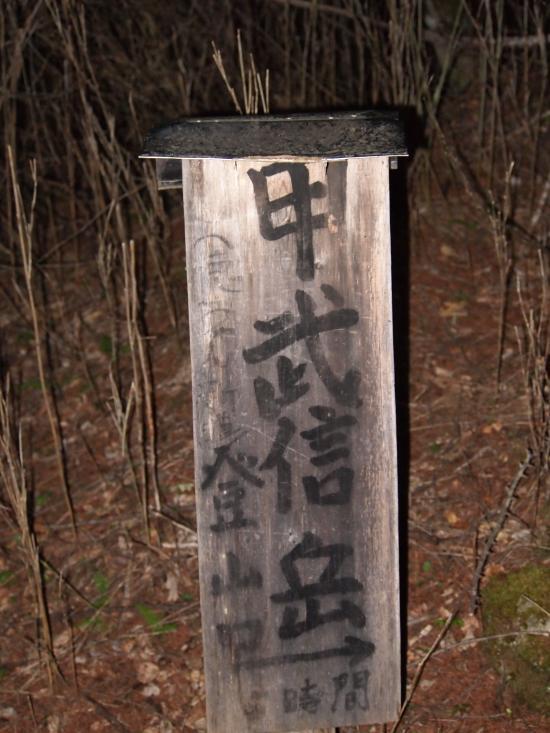 2012  5 20  甲武信岳 3