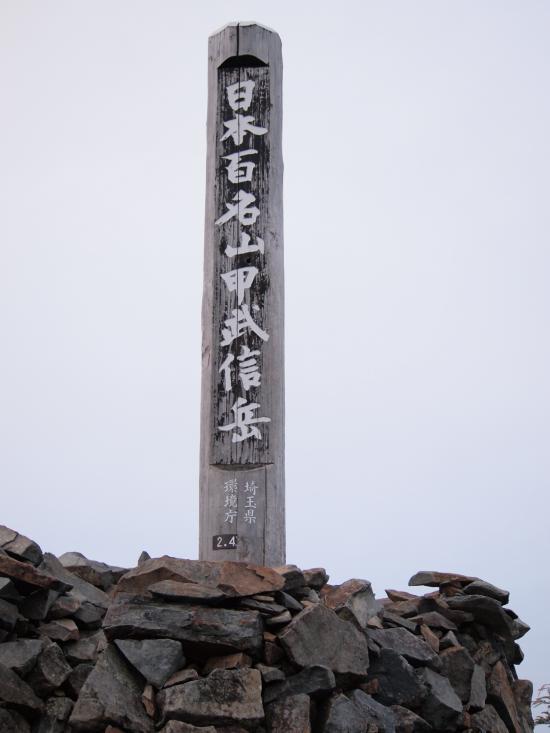 2012  5 20  甲武信岳 7