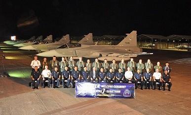 タイ空軍 サーブ39グリペン画像