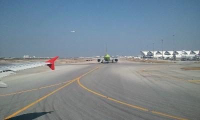 スワンナプーム空港滑走路画像