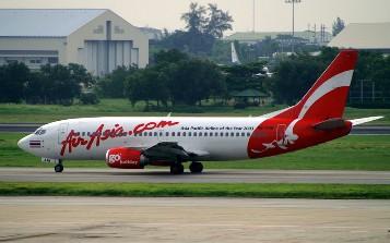 エアアジア機画像 ドンムアン空港
