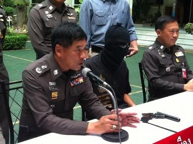 タイ 17才の学生銃撃犯画像