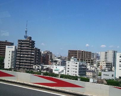 首都高の東京スカイツリー写真