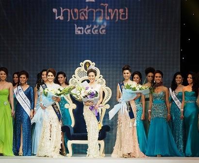 タイ女子大生 美人コンテスト写真 ナーンサーオタイ2012