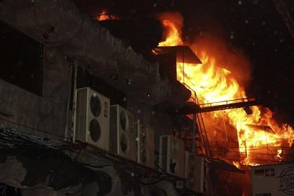 プーケットのディスコ火災写真