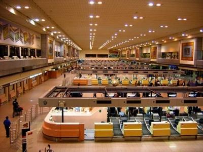 リニューアルのドンムアン空港
