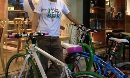 バンコク 自転車貸し出し写真
