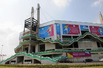 バンコク 2012W杯フットサル会場未完成写真