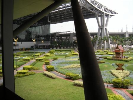 バンコク スワンナプーム空港写真