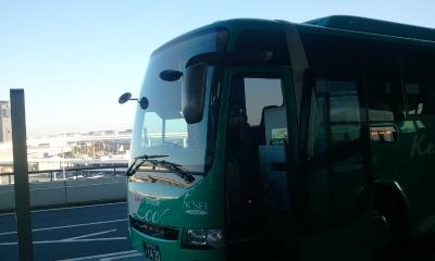 京成バス 成田空港着写真