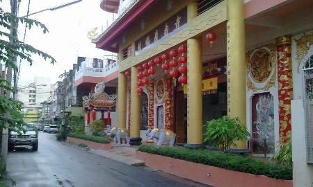 タイ ハジャイの寺写真