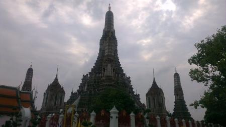 タイ バンコク ワットアルン写真