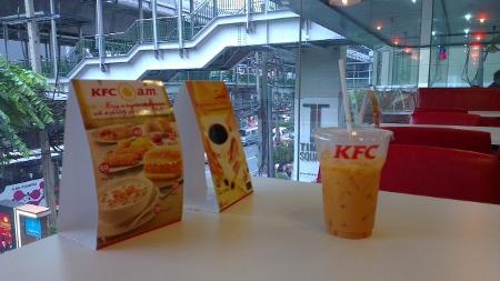 バンコク スクンビットsoi12 KFC画像