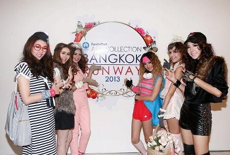 ファミリーマート・アジア・コレクション・バンコクランウェイ2013モデル写真