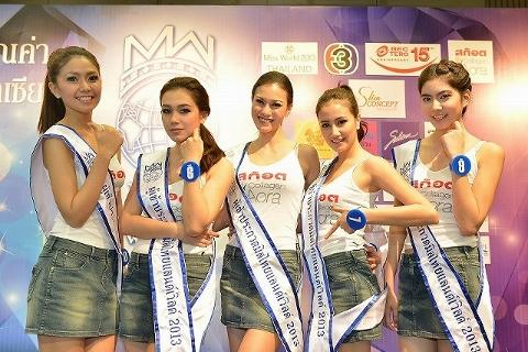 タイ ミスワールド2013代表選考会モデル画像