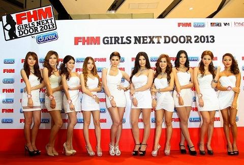 FHMガールズ・ネクスト・ドア・2013・バイ・デュレックス写真