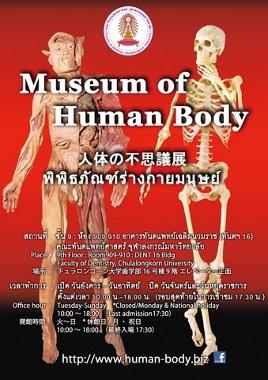 サイアムスクウェア チュラロンコン大学の人体博物館画像