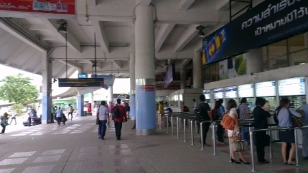 バンコク モチット北バスターミナル移転画像